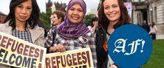 Äntligen slipper flyktingar umgås med arbetarklassmedborgare - Adelsbladet