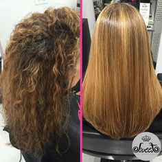 Stunningly smooth hair by Rodolfo Sena!