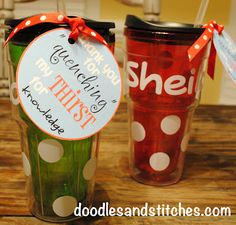 Teacher Gift Ideas....