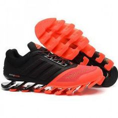 Adidas Springblade Drive 2.0 Black Red Shoes Adidas Nmd, Red Shoes, Hiking Boots, Black, Fashion, Red Dress Shoes, Moda, Black People, Fashion Styles