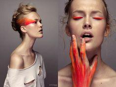Photography by Kasmir Szekeres - Make-up Sabrina Dijkman - Model Sarie @ Futurefaces
