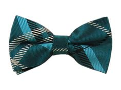 Silk Woven Teal Gent Plaid Self-Tie Bow Tie. Size: One size. We're TheTieBar, the trendy neckwear company endorsed by GQ Magazine. Green Bow Tie, Silk Bow Ties, Tie Bow, Business Fashion, Business Style, Plaid Pattern, Bows, Mens Fashion, Bow Ties