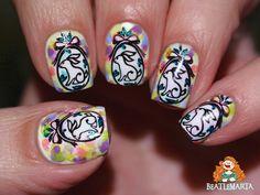 SP-003 Nail Stamping, Nails, Beauty, Finger Nails, Ongles, Beauty Illustration, Nail, Nail Manicure