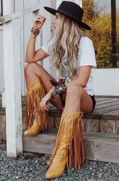 Country Style Outfits, Southern Outfits, Boho Outfits, Cute Outfits, Fashion Outfits, Summer Country Outfits, Cute Hippie Outfits, Fashion Hacks, Fashion Tips
