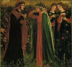 Dante Gabriel Rossetti Saluto a Beatrice 2