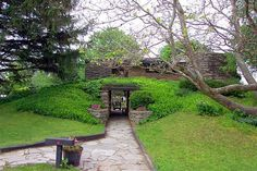 Herbert & Katherine Jacobs House II. 1946-8. Madison, Wisconsin. Usonian. Frank Lloyd Wright.