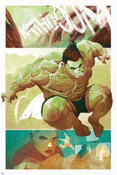 #Hulk #Fan #Art. ( The Totally Awesome Hulk #9 Panel) By:Mike Del Mundo. ÅWESOMENESS!!!™ ÅÅÅ+