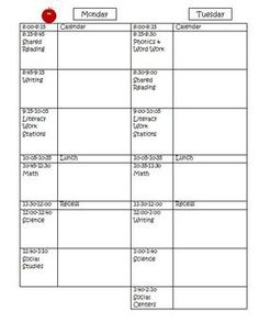 This is my lesson plan template for this school year. It is in Word so you may edit it as needed. Enjoy!  The graphics are from www.mycutegraphics.com