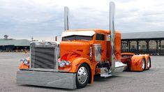 Lataa Peterbilt 379 Custom 1280x720 1280 X 720 Wallpapers - peterbilt Custom Tuning kuorma paras nokia mahtava viileä art oranssi ukkonen hevosvoimaa | mobile9