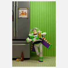 I've A Buzz, $20, now featured on Fab. [Print, Marcos Minuchin, The Secret Life of Toys]