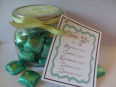 Bliss Mint Chocolate Thank You Gift
