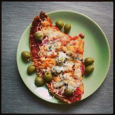 Pillecukor ♥: Paleo karfiol pizza