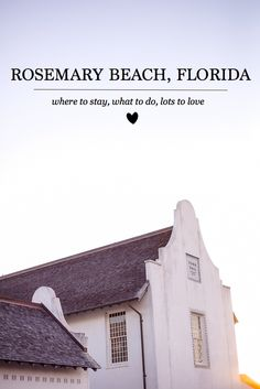 Being from Florida, I've ventured in, out and through plenty of beach town's, communities, and neighborhoods over the last [almost] thirty years. Yet, it's interesting. None have left me with such war