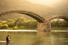 Sunset Fishing at Dragon Bridge Photo by James Manning -- National Geographic Your Shot