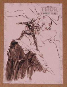 Thor Movie (UDC 2011) Concept Series Card C7 EX