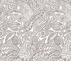 La Antigua fabric by chulabird on Spoonflower - custom fabric