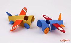 10 diy para hacer con tubos de rollo de papel