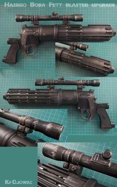 Hasbro Boba Fett blaster upgrade/conversion