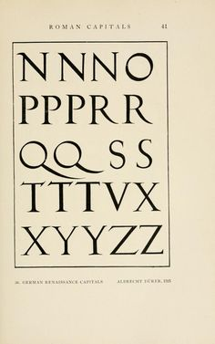 Type design information compiled and maintained by Luc Devroye. Trajan Font, Albrecht Durer, Type Design, Graphic Design Typography, Letterpress, Letters, Calligraphy, Grid, Dancing