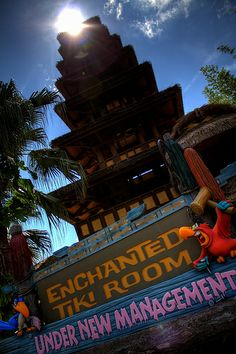 The Enchanted Tiki Room in Adventureland at the Magic Kingdom via Flickr | Pinned by Mousefan in a Minivan | #disney #wdw #disneyworld #magickingdom #parks #adventureland #tikiroom  #attraction #ride #photography #florida #orlando #vacation #travel