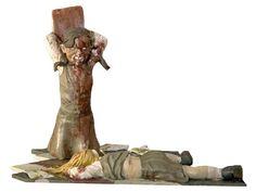 seven deadly sins statue - Wrath