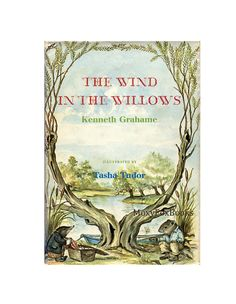 """1966 Tasha Tudor Illustrations """"Wind in the Willows"""" by Kenneth Grahame, $42.00 Free US Shipping with insurance.  http://www.etsy.com/shop/MoxyFoxBooks"""