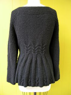 Rivulet cardigan pattern by Shannon Okey, knitgrrl.com  For Mrs Crawley...She is all business