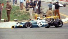 Jack Brabham — Brabham BT33. Spa, 1970