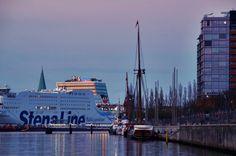 Meer, Kiel, StenaLine