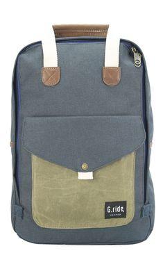 Navy & Olive Benedicte Backpack