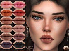 Matte Lipstick BM15 | Madame Sims 4
