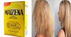 Não Perca!l Repare os cabelos danificados com esta receita de maizena - # #comocuidardoscabelos #hidratante #maizena