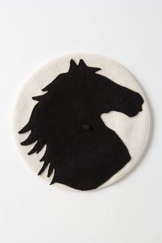 Felted Equus Beret - Anthropologie.com