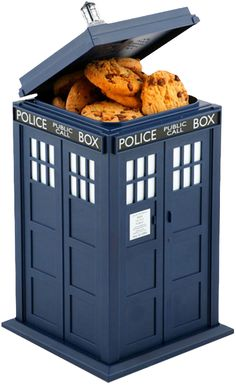 Doctor Who - Tardis Cookie Jar With Light & Sound by Wesco The ultimate in D - TV / Movie - Dr. Who - - Buy Collectables, Action Figures, T-Shirts, True Blood & Pop Culture Merchandise from Popcultcha Australia