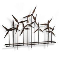 Windmill Metal Artwork