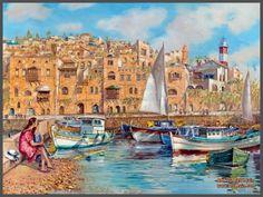 """Summer day in Jaffa"""