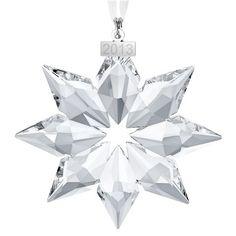 Swarovski - Snowflake Annual Christmas Ornament 2013