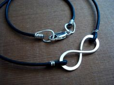 The infinity symbol. One of my favorites! <3 this necklace