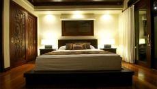 Dekorasi Interior Rumah Bergaya Bali Kamar Tidur » Gambar 3