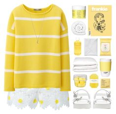 """HONEY & DAISIES // top set 02.06.16"" by emmas-fashion-diary ❤ liked on Polyvore featuring Dolce&Gabbana, Uniqlo, Minor Obsessions, Zara, Aveda, Burt's Bees, Selfridges, ROOM COPENHAGEN, Pelle and Brinkhaus"