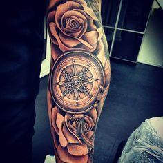 compass-tattoo-tattoordiedynamicinktattooartisttattoosrosetattooblackandgreycompassaarhusartofinkinkcompasstattoojonaswillyinstadailyunderarmtattoorosetattooliferosescheyennetattooequipment-83196.jpg (640×640)
