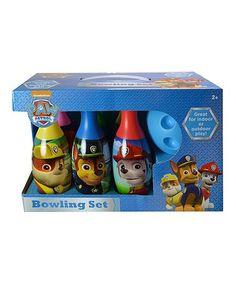 Look at this #zulilyfind! PAW Patrol Bowling Set #zulilyfinds