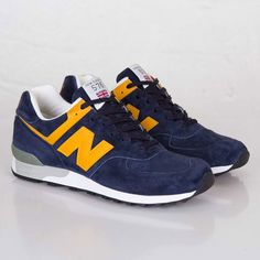New Balance M576 Navy / Yellow | MATÉRIA:estilo