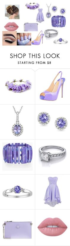 """""""Untitled #463"""" by megibson2005 on Polyvore featuring Forever 21, Miadora, Chico's, Versace and Lime Crime"""