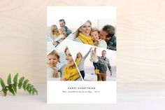 Prismatic Holiday Photo Cards by annie clark at minted.com