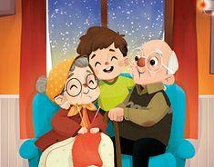 Crazy Wallpaper, Disney Wallpaper, Children's Book Illustration, Character Illustration, Family Drawing, Cute Little Drawings, Cartoon Painting, Mini Canvas Art, Dibujos Cute