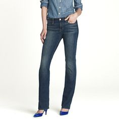 Bootcut jean in classic rinse wash