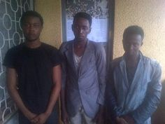 Three Students Arrested For Internet Fraud In Ondo State (Photo) - http://www.77evenbusiness.com/three-students-arrested-for-internet-%e2%80%8efraud-in-ondo-state-photo/