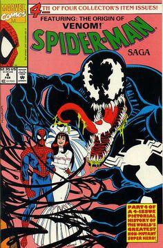 comicscomicsyeah:  Spider-Man Saga Issue #4 written by Glenn Herdling Cover art by Al Milgrom