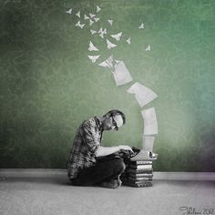 Magical Typewriter***** by ~Thelema001